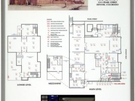 Interior Graphic Map Assembly